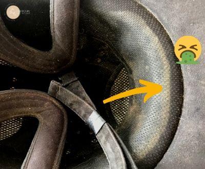 Comment nettoyer l'intérieur d'une bombe d'équitation non déhoussable